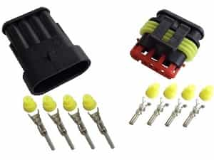 4pin 1.5 superseal connector set - Click Image to Close