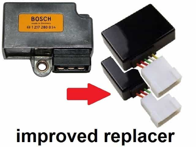 Bosch replacer TCI-unit (2 X)