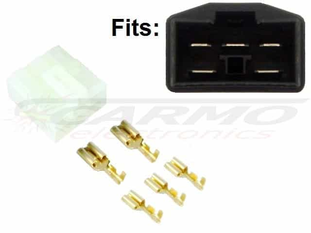 Honda regulator rectifier connector set